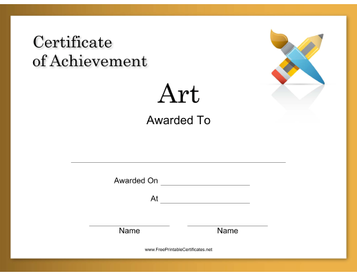Art Achievement