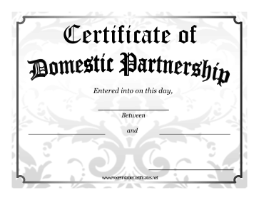 Domestic Partnership