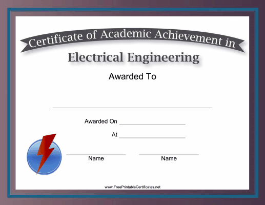 Electrical Engineering Academic