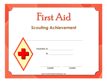 First Aid Level 3 Badge