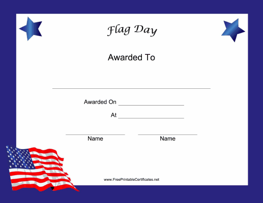 Flag Day Holiday