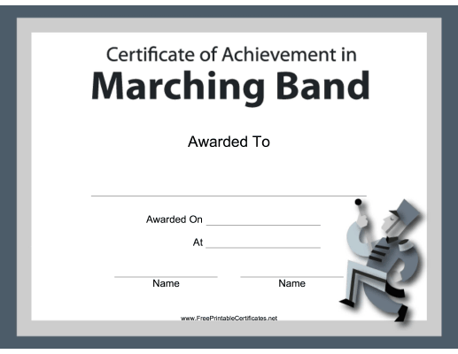 Marching Band Instrumental Music