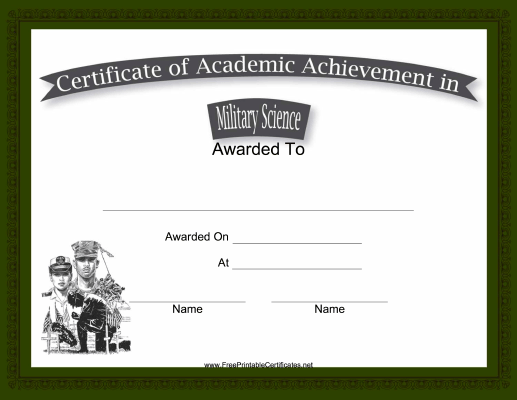 Military Science Academic