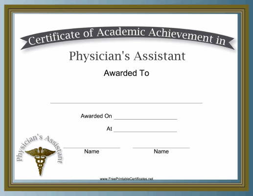 Physician Assistant Academic