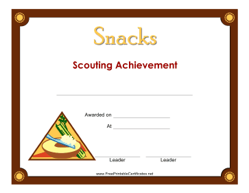 Snacks Badge