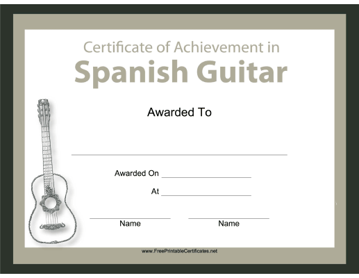 Spanish Guitar Instrumental Music