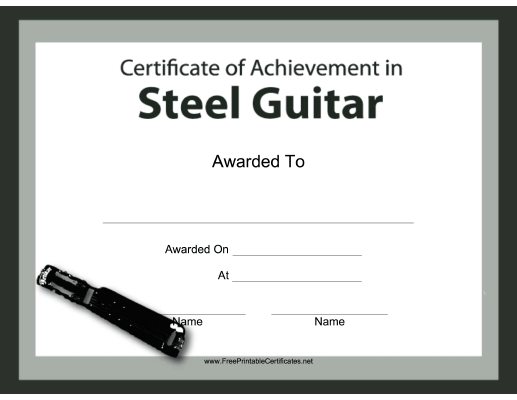 Steel Guitar Instrumental Music