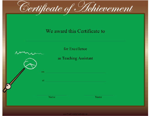 Teaching Assistant Excellence