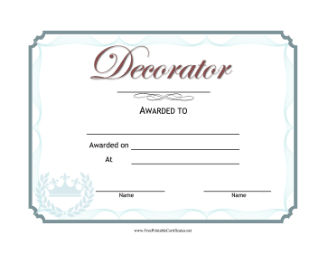 Wedding Decorator