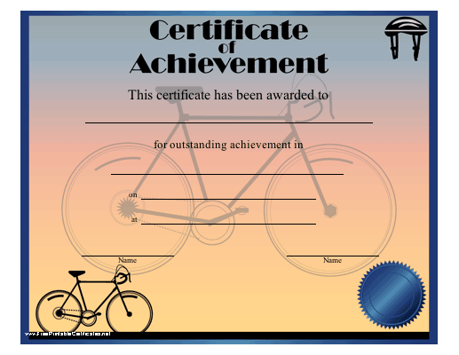 Achievement - Cycling