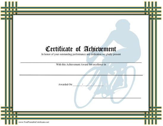 Achievement - Biking