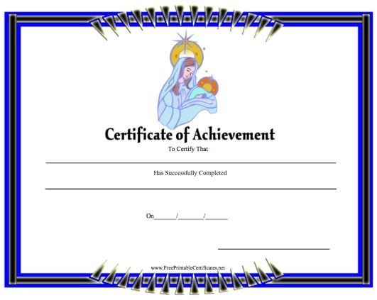 Achievement - Mary