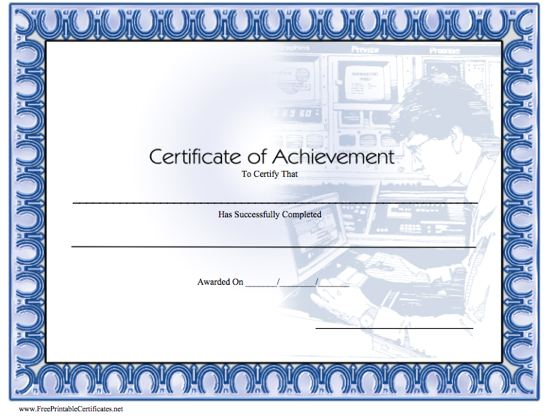 Achievement - Computer