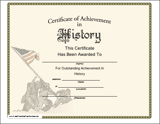 History Achievement