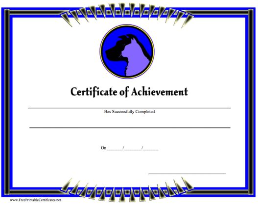 Achievement - Cat and Dog