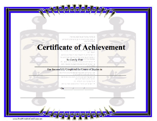 Achievement - Torah
