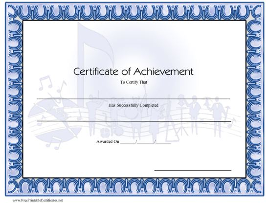 Achievement - Music