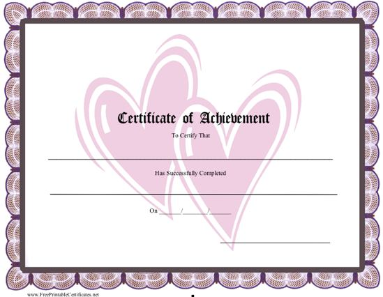 Achievement - Hearts