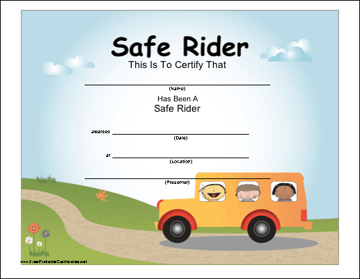 Safe School Bus Rider