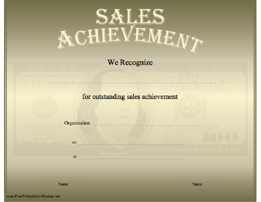 Sales Achievement