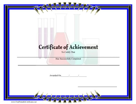Achievement - Science