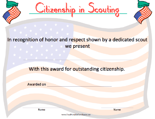Citizenship in Scouting