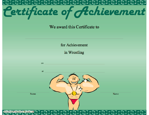 Wrestling Achievement