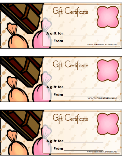 Chocolate & Candy Gift certificate