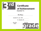 3rd Grade Achievement