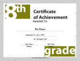 8th Grade Achievement