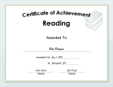 Achievement in Reading