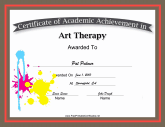 Art Therapy Academic