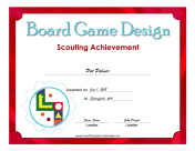 Board Game Badge