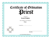 Ordination Priest