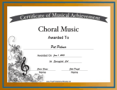 Choral Music Vocal Music