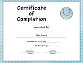Blue Smiley Completion