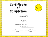 Yellow Smiley Completion