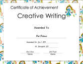 Creative Writing Achievement Princess
