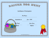Easter Egg Hunt Participant