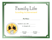 Family Life Badge