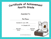 Fourth Grade Achievement