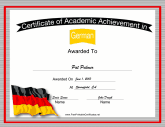 Germany German Language
