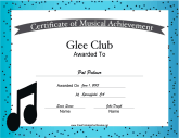 Glee Club Vocal Music