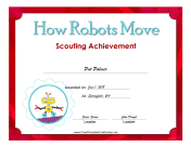 How Robots Move Badge