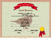 Hunting Quail Achievement