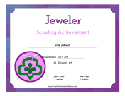 Jeweler Badge