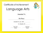 Language Arts Achievement