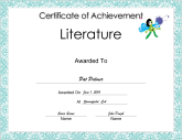 Literature Achievement