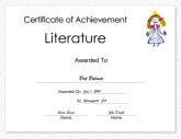 Literature Achievement Princess