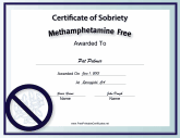 Methamphetamine-Free